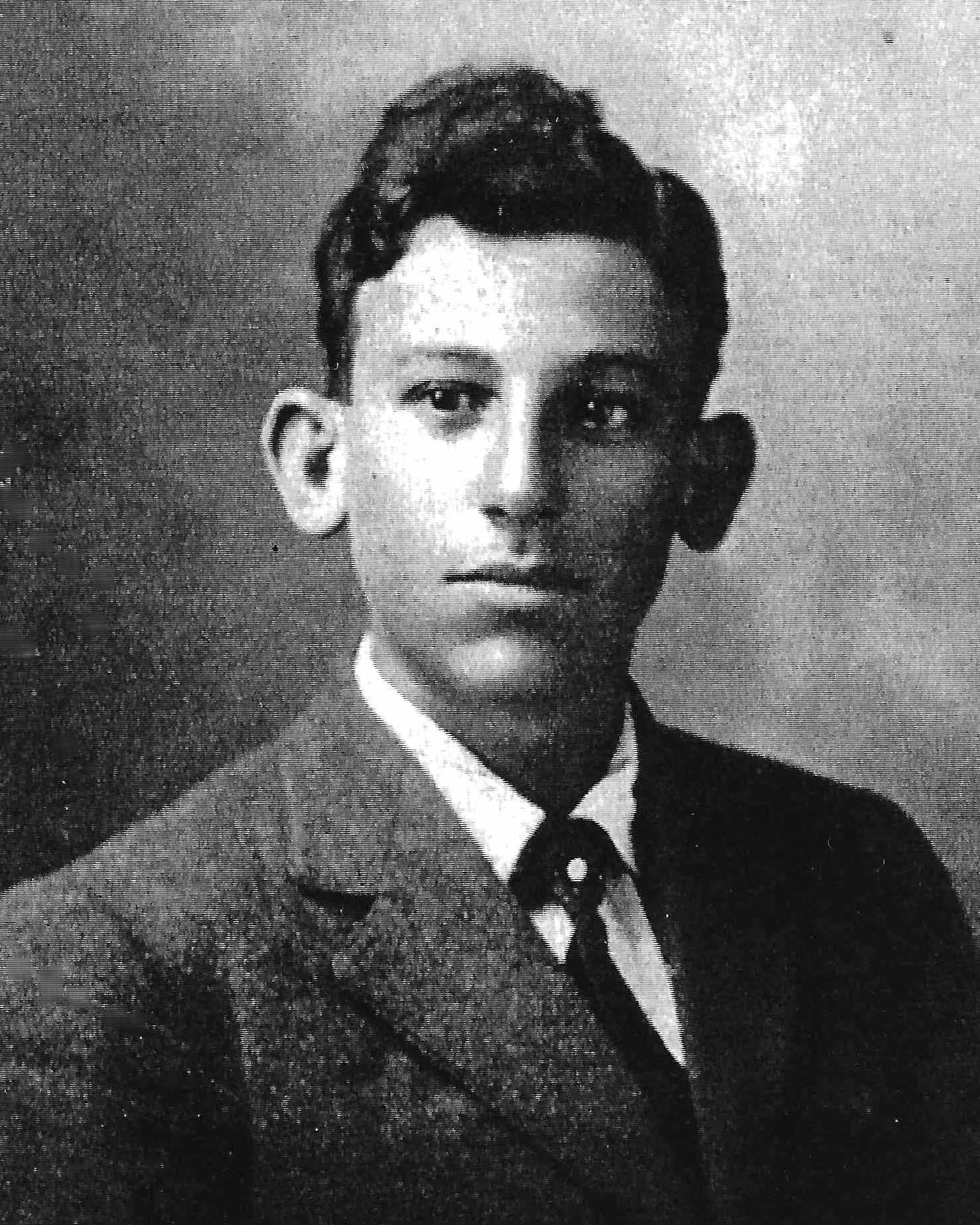 Sol Jones as a young man